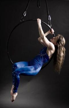 Aerial Hoop by Cori from Cirque Vancouver